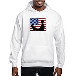 American Computer Geek Hooded Sweatshirt