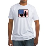 American Bowling Fitted T-Shirt