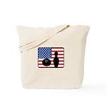 American Bowling Tote Bag