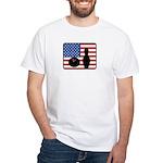 American Bowling White T-Shirt