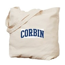 CORBIN design (blue) Tote Bag