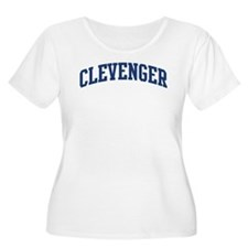 CLEVENGER design (blue) T-Shirt