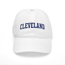 CLEVELAND design (blue) Baseball Cap
