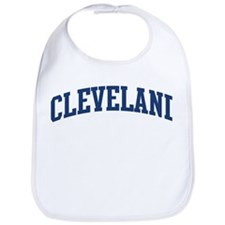 CLEVELAND design (blue) Bib