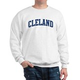 CLELAND design (blue) Sweatshirt