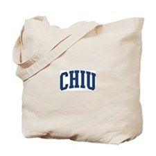 CHIU design (blue) Tote Bag