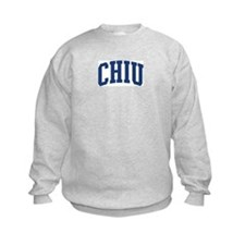 CHIU design (blue) Sweatshirt