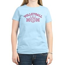 Volleyball Mom Women's Pink T-Shirt