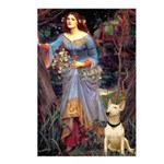 Ophelia / Bull Ter Postcards (Package of 8)