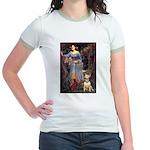 Ophelia / Bull Ter Jr. Ringer T-Shirt