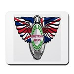 British Iron Motorcycle Mousepad