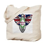 British Iron Motorcycle Tote Bag