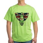 British Iron Motorcycle Green T-Shirt