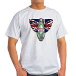 British Iron Motorcycle Light T-Shirt