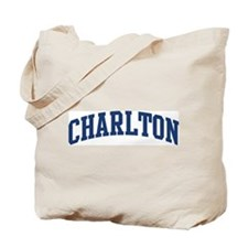 CHARLTON design (blue) Tote Bag