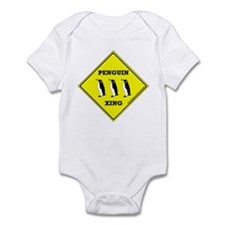 Penguin Xing Infant Bodysuit