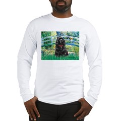 Bridge / Black Cocker Spaniel Long Sleeve T-Shirt