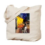 Cafe / G Shepherd Tote Bag