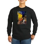 Cafe / G Shepherd Long Sleeve Dark T-Shirt