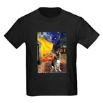 Cafe / G Shepherd Kids Dark T-Shirt