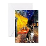 Cafe / G Shepherd Greeting Cards (Pk of 20)
