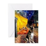 Cafe / G Shepherd Greeting Card