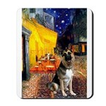 Cafe / G Shepherd Mousepad
