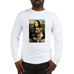Mona / Labrador Long Sleeve T-Shirt