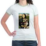 Mona / Labrador Jr. Ringer T-Shirt