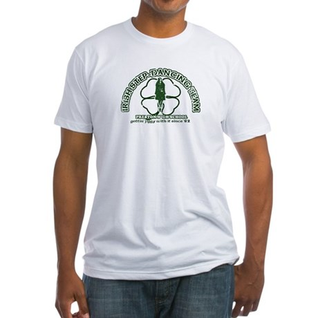 P.H.S. Irish Step-Dancing Fitted T-Shirt
