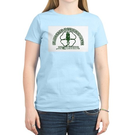 P.H.S. Irish Step-Dancing Womens Pink T-Shirt