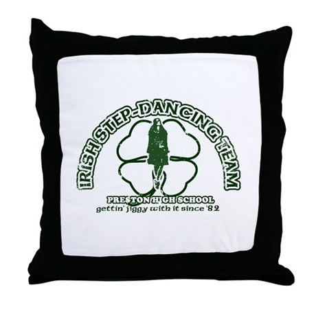 P.H.S. Irish Step-Dancing Throw Pillow
