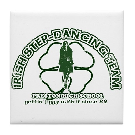 P.H.S. Irish Step-Dancing Tile Coaster