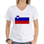 Slovenia Women's V-Neck T-Shirt