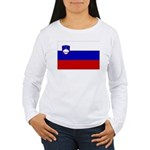 Slovenia Women's Long Sleeve T-Shirt