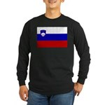 Slovenia Long Sleeve Dark T-Shirt