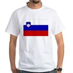 Slovenia White T-Shirt