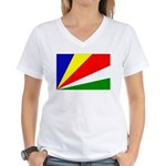 Seychelles Women's V-Neck T-Shirt