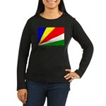 Seychelles Women's Long Sleeve Dark T-Shirt