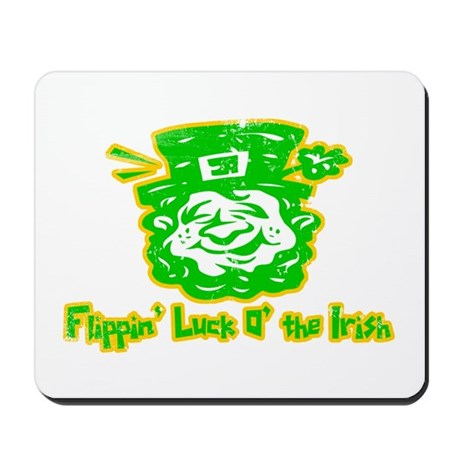 Flippin' Luck O' the Irish Mousepad