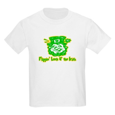 Flippin' Luck O' the Irish Kids T-Shirt