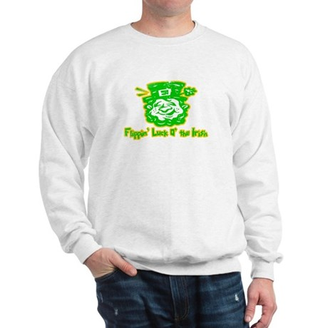 Flippin' Luck O' the Irish Sweatshirt