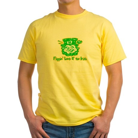 Flippin' Luck O' the Irish Yellow T-Shirt