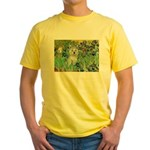 Irises / Westie Yellow T-Shirt