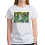 Irises / Westie Women's T-Shirt