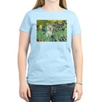 Irises / Westie Women's Light T-Shirt