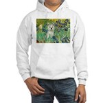 Irises / Westie Hooded Sweatshirt