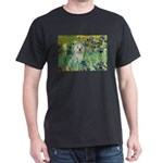 Irises / Westie Dark T-Shirt