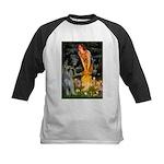 Fairies / G Schnauzer Kids Baseball Jersey
