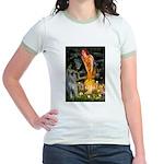 Fairies / G Schnauzer Jr. Ringer T-Shirt